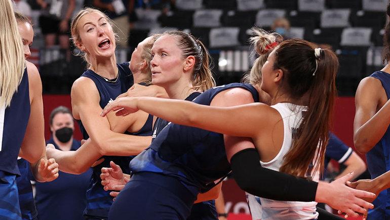 Волейболистки сборной США. Фото Getty Images