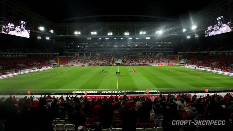 Стадион «Открытие арена». Фото Дарья Исаева, «СЭ» / Canon EOS-1D X Mark II