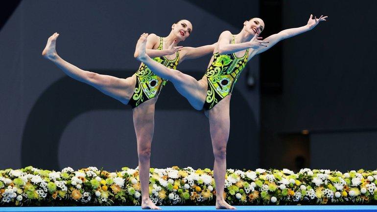 Светлана Ромашина иСветлана Колесниченко. Фото Reuters