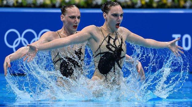 Олимпиада 2021. Синхронное плавание. Золото Ромашиной иКолесниченко вдуэтах. Как это было
