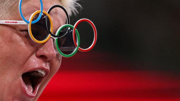 Спортсмены вТокио находят время для шуток. Фото Getty Images