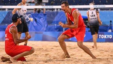 Российские пляжники— вполуфинале Олимпиады. Впереди грозные катарцы