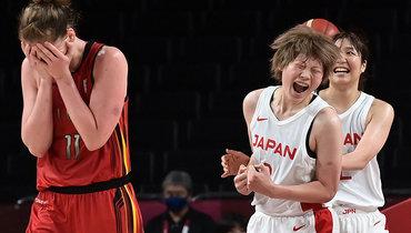 Женская сборная Японии побаскетболу вышла вполуфинал домашней Олимпиады