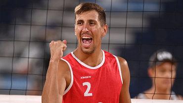 Россиянин Стояновский прокомментировал выход вполуфинал Олимпиады впляжном волейболе
