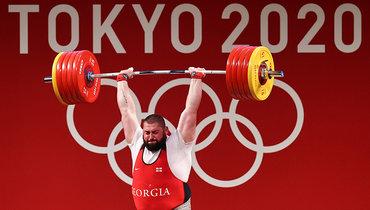 Грузин Талахадзе стал олимпийским чемпионом потяжелой атлетике