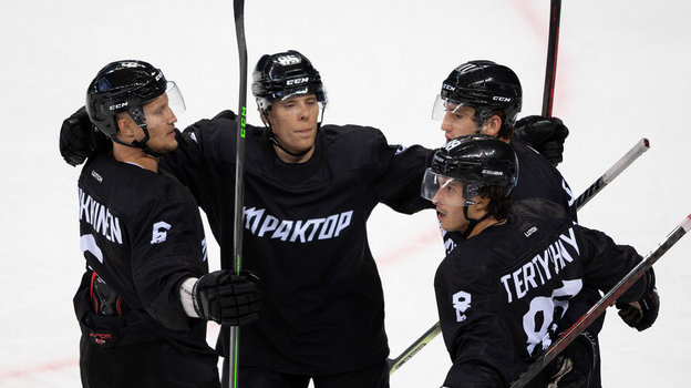 Хоккеисты «Трактора». Фото ХК «Трактор»