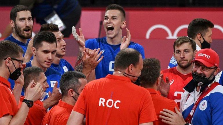 Мужская сборная России поволейболу. Фото AFP