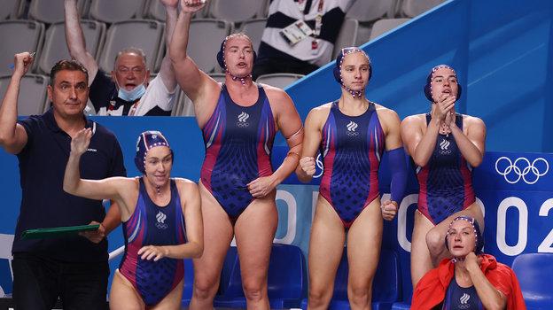 Сборная России поводному поло. Фото Reuters