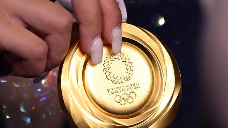 Золотая медаль Олимпийских игр вТокио. Фото Instagram