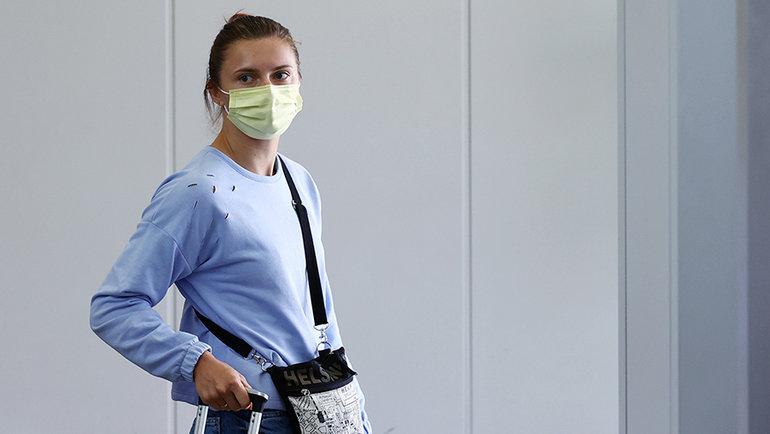 Кристина Тимановская. Фото Reuters