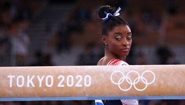 Байлз тренировалась всекретном зале перед бронзой Олимпиады вТокио