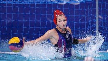 Женская сборная России поводному поло проиграла США вполуфинале Олимпиады