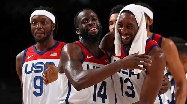 Баскетболисты сборной США. Фото AFP