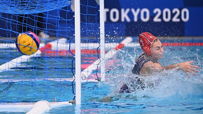 Женская сборная России поводному поло проиграла США вполуфинале Олимпиады. Фото AFP