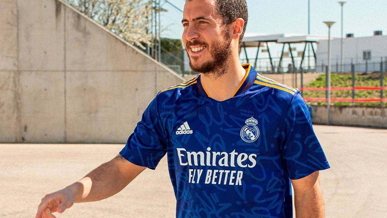 «Реал» представил гостевую форму насезон-2021/22. Фото Twitter
