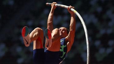 Российский десятиборец Шкуренев— седьмой после прыжков сшестом наОлимпиаде вТокио