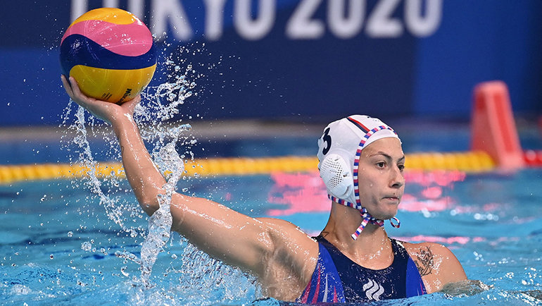Екатерина Прокофьева. Фото AFP