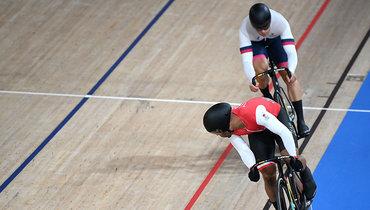Трининадского велосипедиста дисквалифицировали в1/4 финала Олимпиады, Дмитриев прошел вполуфинал велотрека