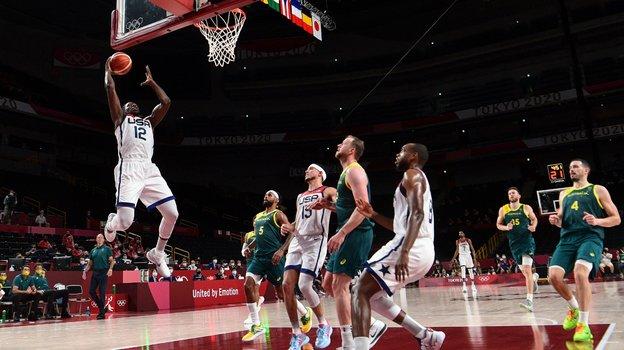 Олимпиада 2021 вТокио, баскетбол, полуфинал: США— Австралия— 97:78, обзор матча 5августа