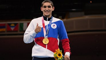 Альберт Батыргазиев. Фото AFP