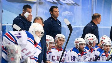 Хоккеисты СКА напредсезонном турнире вСочи. Фото ХКСКА