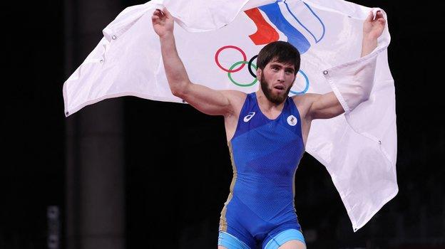 Олимпиада 2021, вольная борьба. 26-летний борец-вольник Заур Угуев выиграл золото ввесовой категории до57кг