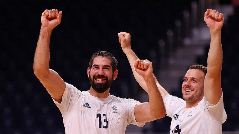 Французские гандболисты. Фото Reuters