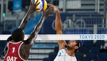 Красильников иСтояновский вышли вфинал турнира попляжному волейболу наОлимпиаде вТокио