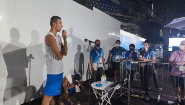«Ро!» Российский волейболист предложил журналистам продолжить слово после выхода вфинал Олимпиады