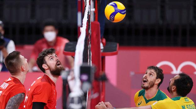 Олимпиада 2021 вТокио, волейбол, мужчины, полуфинал: Россия— Бразилия— 3:1, мнение обозревателя «СЭ»
