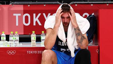 Лука Дончич впервые вкарьере проиграл матч всоставе сборной Словении