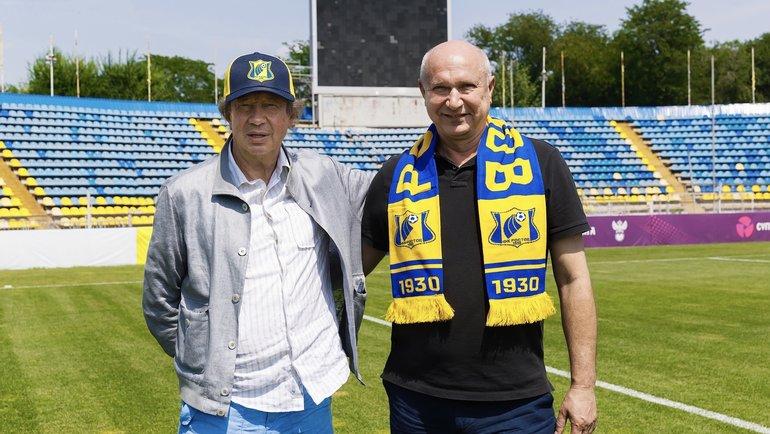 Юрий Батуренко (справа). Фото ФК «Ростов».