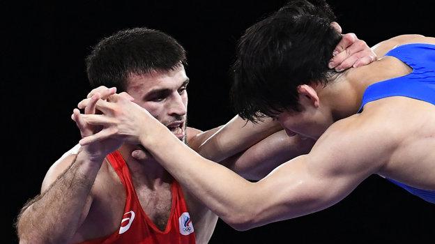 Гаджимурад Рашидов (слева). Фото Reuters