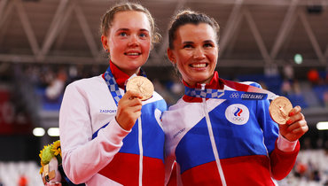 Гульназ Хатунцева иМария Новолодская. Фото Getty Images