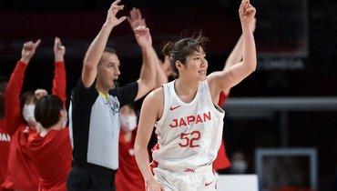 Женская сборная Японии побаскетболу вышла вфинал домашней Олимпиады