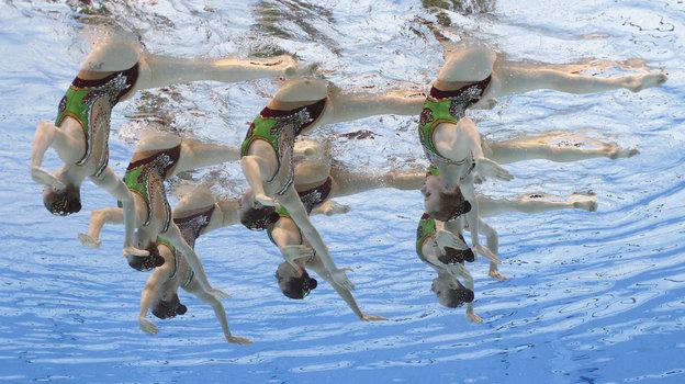 6августа. Токио. Сборная России посинхронному плаванию. Фото Reuters