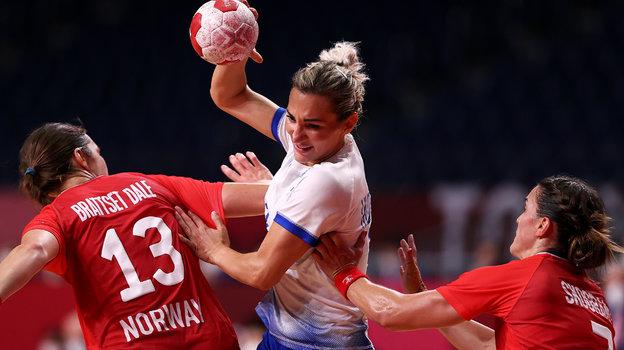 Женская сборная России погандболу вышла вфинал Олимпиады-2020. Фото Getty Images