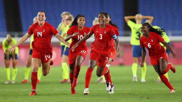 Женская сборная Канады. Фото Getty Images