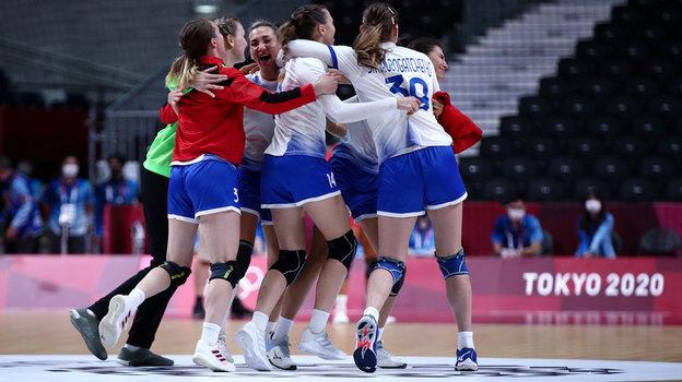 Женская сборная России погандболу. Фото Дарья Исаева, «СЭ» / Canon EOS-1D X Mark II