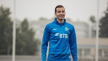 Денис Макаров провел первую тренировку всоставе «Динамо»