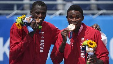 Катарские пляжники завоевали бронзовую медаль Олимпиады
