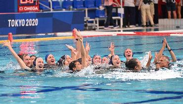 Женская сборная США поводному поло выиграла золото наОлимпиаде вТокио