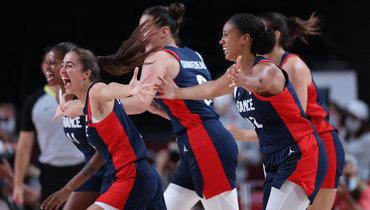 Женская сборная Франции побаскетболу завоевала бронзу Олимпиады вТокио