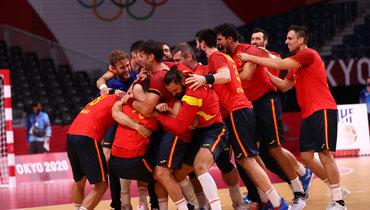 Сборная Испании погандболу завоевала бронзовую медаль Олимпиады вТокио