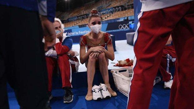 Дина Аверина. Фото AFP