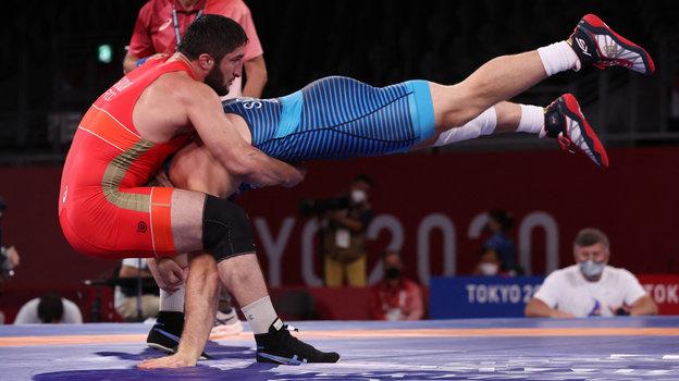 Абдулрашид Садулаев— Кайл Снайдер. Фото AFP