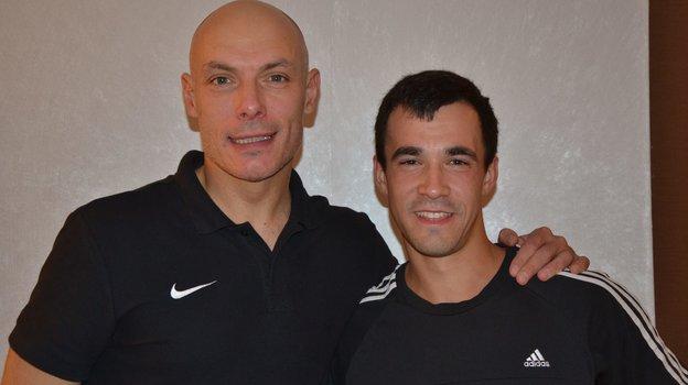 Антон Щетинин (справа).