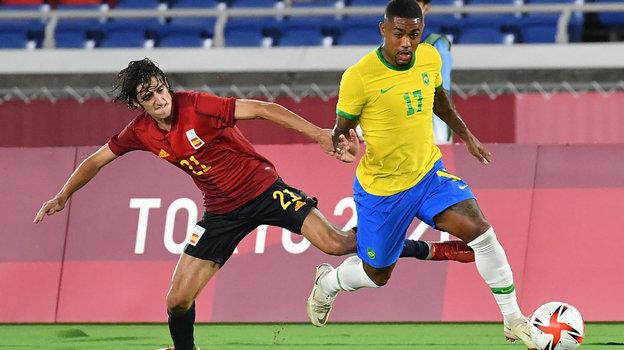 7августа. Токио. Бразилия— Испания— 2:1. Фото AFP