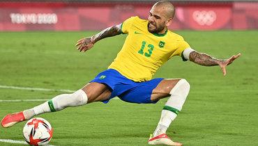Дани Алвес высказался офинальном матче Бразилии наОлимпиаде вТокио