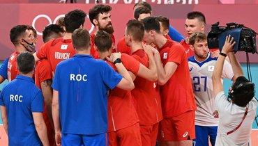 7августа. Токио. Франция— Россия— 3:2. Российские волейболисты стали серебряными призерами Олимпиады-2020.